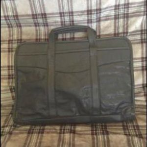"""WHOLESALE DESIGNS"" Leather Laptop Bags  NWT"